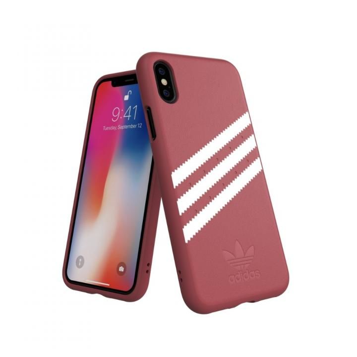 iPhone XS/X ケース adidas OR Moulded Case GAZELLE ピンク iPhone XS/X_0