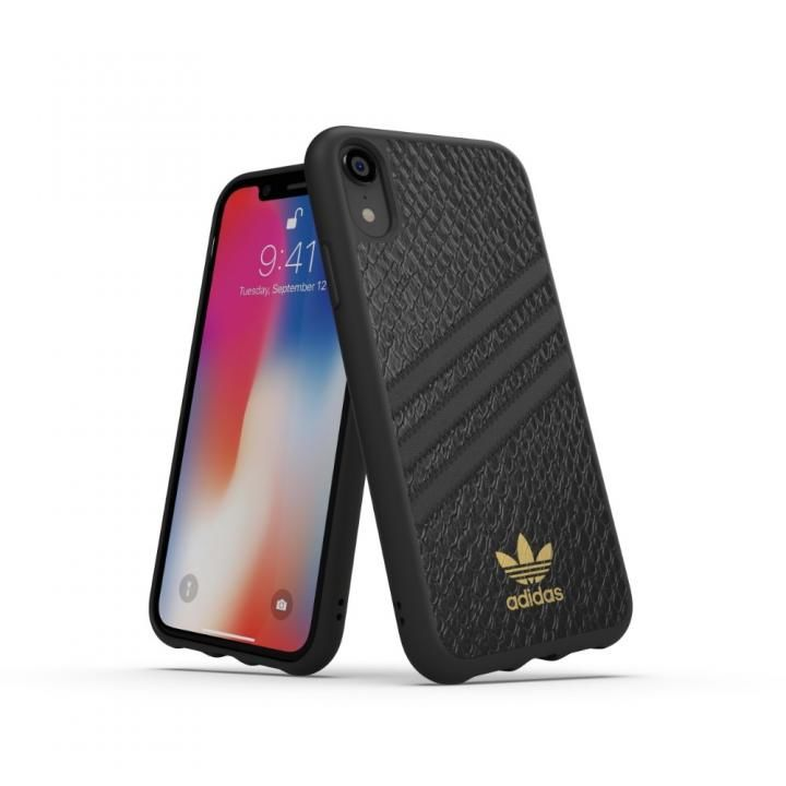 iPhone XR ケース adidas OR Moulded Case SAMBA WOMAN ブラック iPhone XR_0