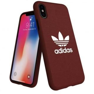 iPhone XS/X ケース adidas AdicolOriginals Moulded Case マルーン iPhone XS/X
