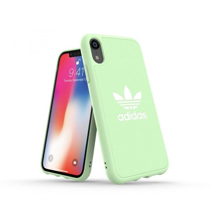 iPhone XR ケース adidas OR Adicolor Originals Moulded Case クリアミント iPhone XR【7月上旬】_0