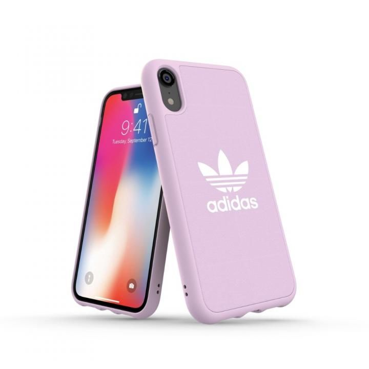 iPhone XR ケース adidas OR Adicolor Originals Moulded Case クリアピンク iPhone XR_0