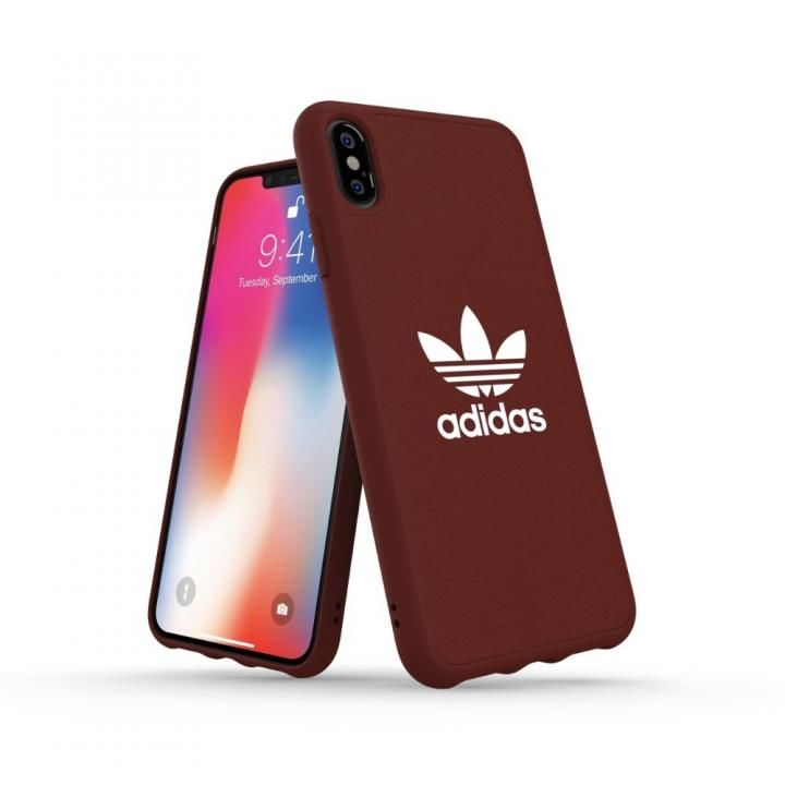 iPhone XS Max ケース adidas OR Adicolor Moulded Case マローン iPhone XS Max_0