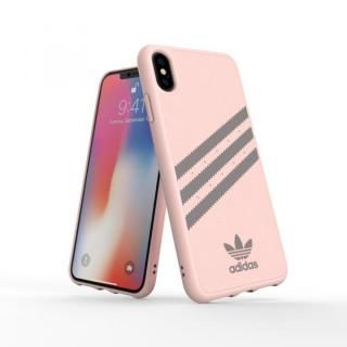 iPhone XS Max ケース adidas OR Moulded Case SAMBA ピンク/グレイ iPhone XS Max