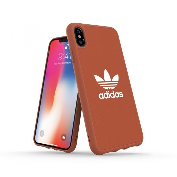 iPhone XS Max ケース adidas OR Adicolor Moulded Case Shift オレンジ iPhone XS Max_0