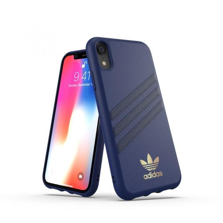 iPhone XR ケース adidas OR Moulded Case SAMBA ブルー iPhone XR_0