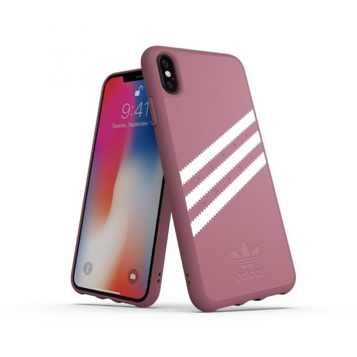 iPhone XS Max ケース adidas OR Moulded Case GAZELLE ピンク iPhone XS Max_0