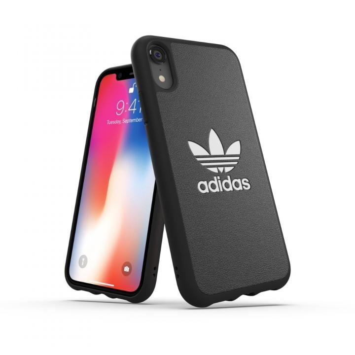 iPhone XR ケース adidas OR TPU Moulded Case BASIC ブラック/ホワイト iPhone XR_0
