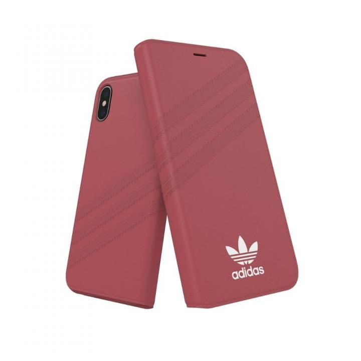 iPhone XS/X ケース adidas OR Booklet Case GAZELLE ピンク iPhone XS/X_0