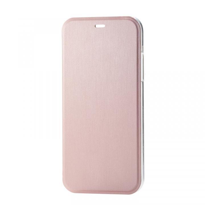 iPhone XR ケース シェルカバー 手帳型ケース ピンク iPhone XR_0