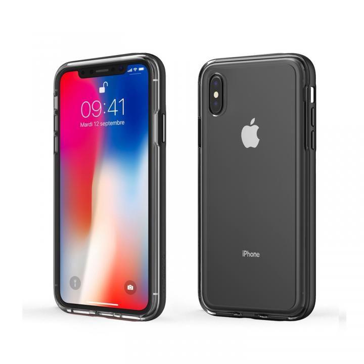 【iPhone XS Maxケース】ACHROME SHIELD プレミアムケース マットブラック iPhone XS Max_0