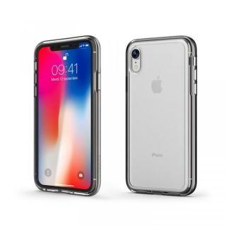 iPhone XR ケース ACHROME SHIELD プレミアムケース マットブラック iPhone XR