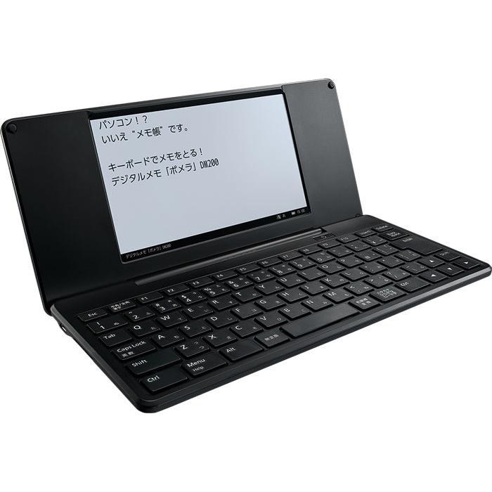 デジタルメモ「ポメラ」 DM200黒_0