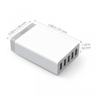 Anker 40W 5ポート急速USB充電アダプタ PowerIQ搭載 ホワイト_2