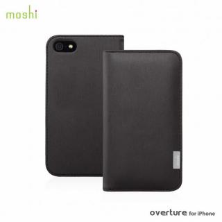 moshi Overture  iPhone SE/5s/5 手帳型ケース Metallic Black
