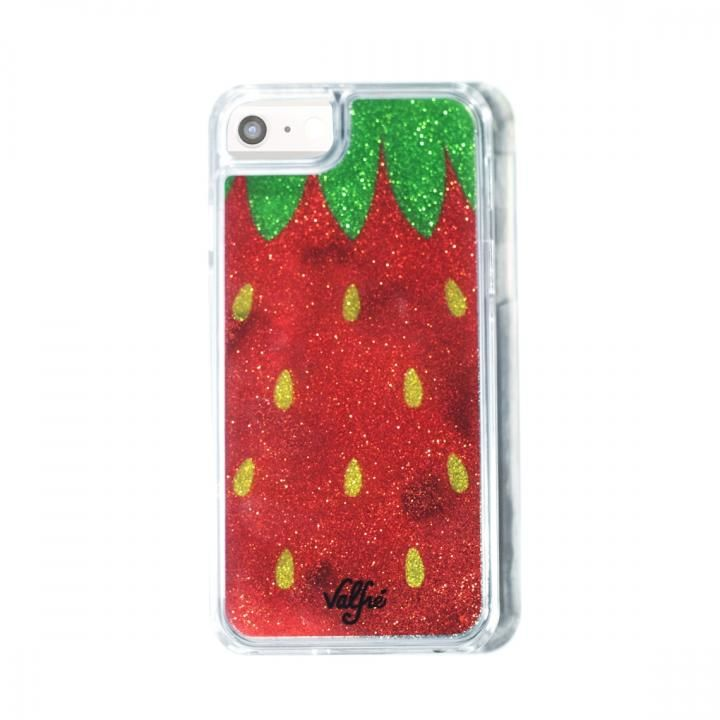 【iPhone8/7/6s/6ケース】Valfre STRAWBERRY GLITTER iPhone 8/7/6s/6_0
