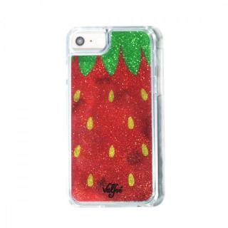 【iPhone8/7/6s/6ケース】Valfre STRAWBERRY GLITTER iPhone 8/7/6s/6