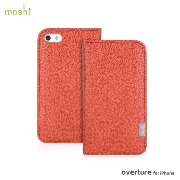 iPhone SE/5s/5 ケース moshi Overture  iPhone SE/5s/5 手帳型ケース Sienna Orange_0