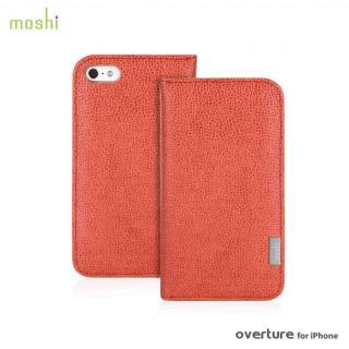 moshi Overture  iPhone SE/5s/5 手帳型ケース Sienna Orange