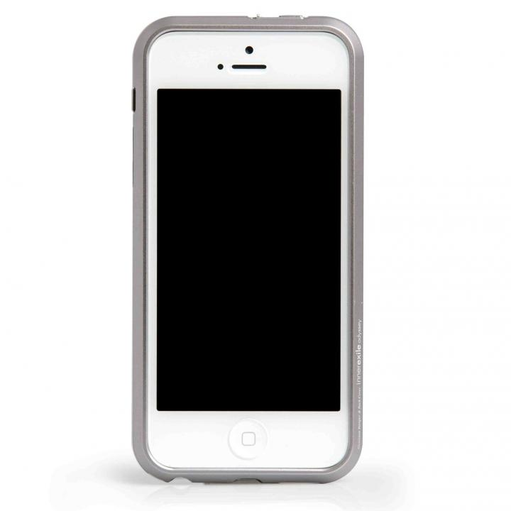 iPhone SE/5s/5 ケース InnerExile Odyssey 5  iPhone SE/5s/5 Silver イヤホンアダプター付き_0