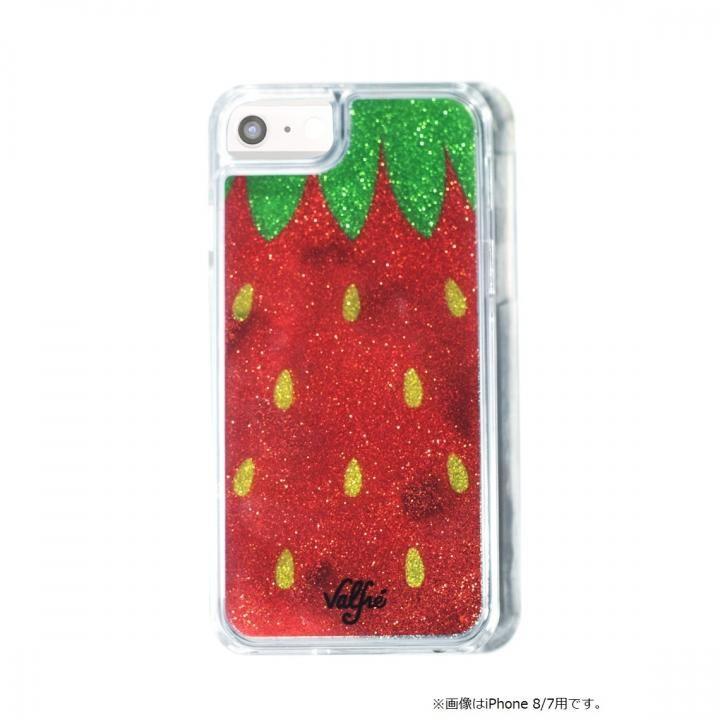 【iPhone8 Plus/7 Plusケース】Valfre STRAWBERRY GLITTER iPhone 8 Plus/7 Plus/6s Plus/6 Plus_0
