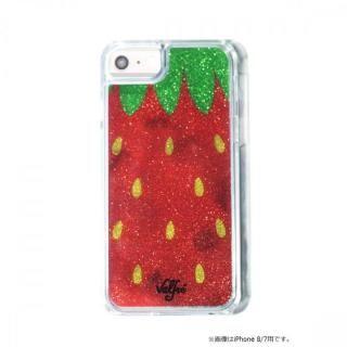【iPhone8 Plus/7 Plusケース】Valfre STRAWBERRY GLITTER iPhone 8 Plus/7 Plus/6s Plus/6 Plus