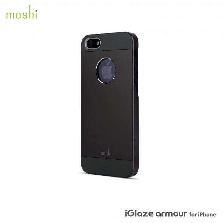 iPhone SE/5s/5 ケース moshi iGlaze Armour  iPhone SE/5s/5 Black_0