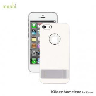 iPhone SE/5s/5 ケース moshi iGlaze Kameleon  iPhone SE/5s/5 White