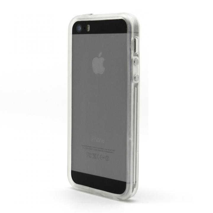 iPhone SE/5s/5 ケース EdgeBand クリアー&クリアーバンパーiPhone SE/5s/5_0