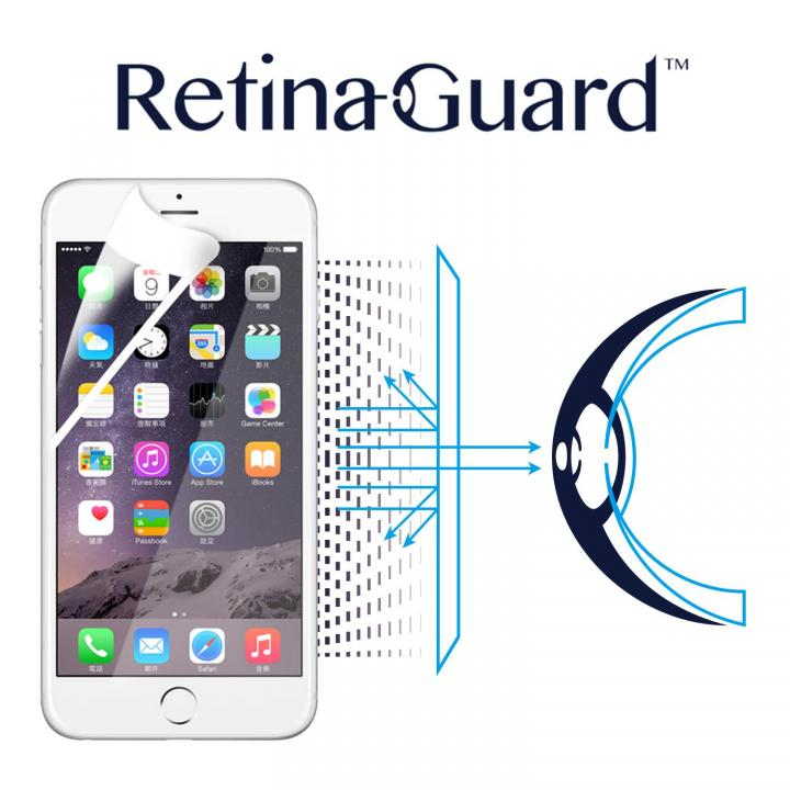 iPhone6s Plus/6 Plus フィルム ブルーライト90%カット液晶保護フィルム RetinaGuard ホワイトベゼルiPhone 6s Plus/6 Plus_0