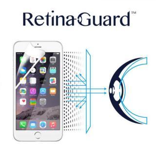 iPhone6s/6 フィルム ブルーライト90%カット液晶保護フィルム RetinaGuard ホワイトベゼル iPhone 6s/6フィルム