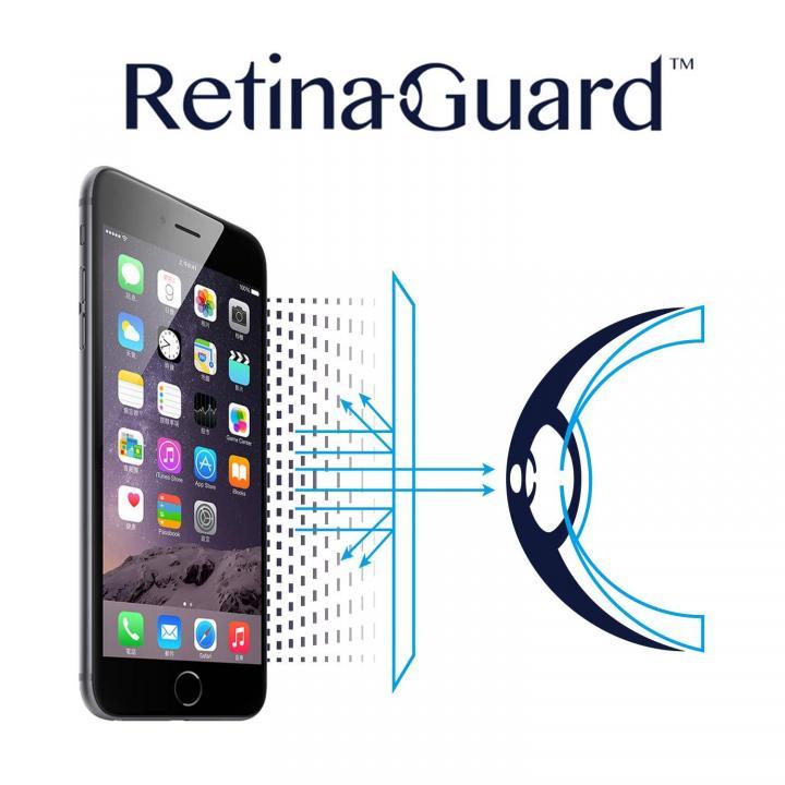 ブルーライト90%カット液晶保護フィルム RetinaGuard iPhone 6 フィルム