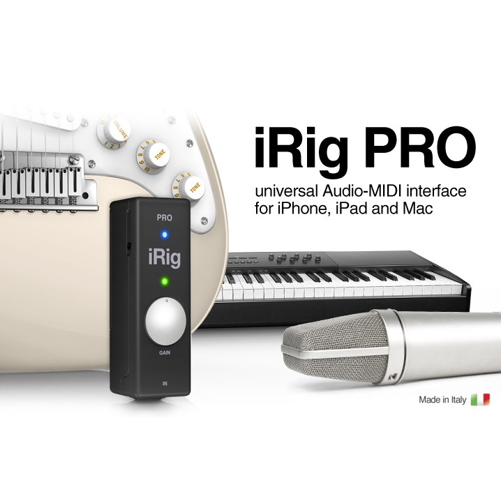 iRig PRO(アイリグ・プロ) by IK Multimedia