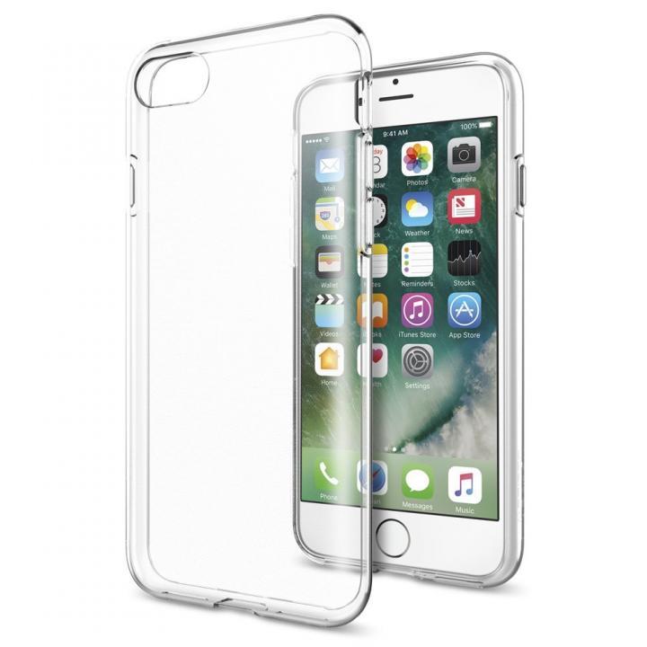 [2017夏フェス特価]Spigen リキッドクリスタルケース iPhone 7