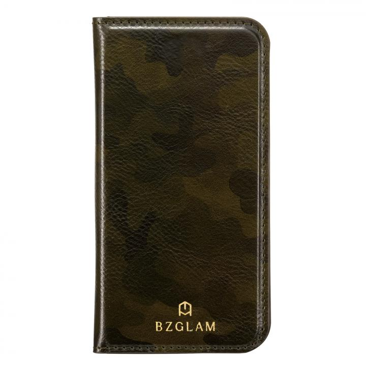 【iPhone7 Plusケース】BZGLAM カモフラージュ手帳型ケース グリーン iPhone 7 Plus_0