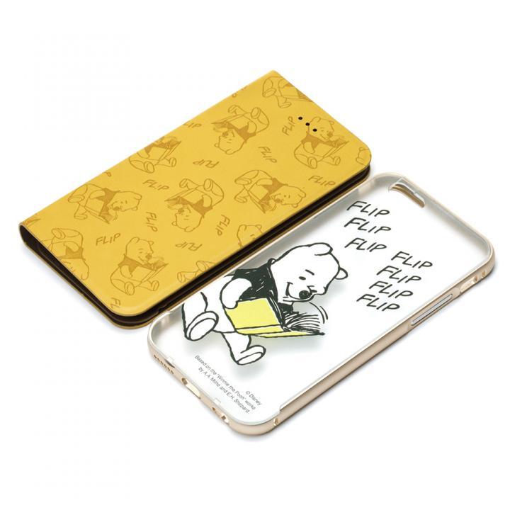 手帳型/バックケース 2WAY COVER くまのプーさん iPhone 6s/6
