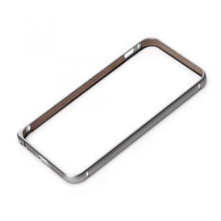 【iPhone SE/5s/5ケース】Premium Style アルミバンパー ブラック iPhone SE/5s/5