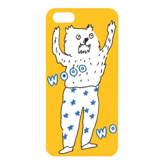 iPhone SE/5s/5 ケース AIUEO iPhone SE/5s/5 Case WOLF YE_0