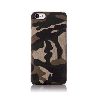 その他のiPhone/iPod ケース ファブリックカバーセット カモフラージュ iPhone 5cケース