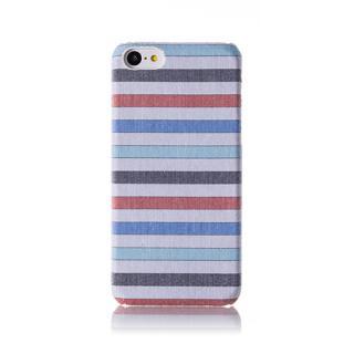 その他のiPhone/iPod ケース ファブリックカバーセット ミントボーダー iPhone 5cケース