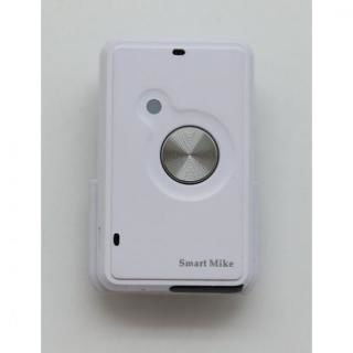 iPhone用ワイヤレスマイク Smart Mike ホワイト