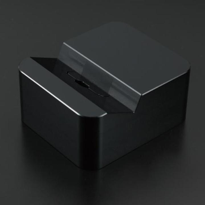 クレードル Apple純正 Lightning USBケーブル対応 ブラック_0