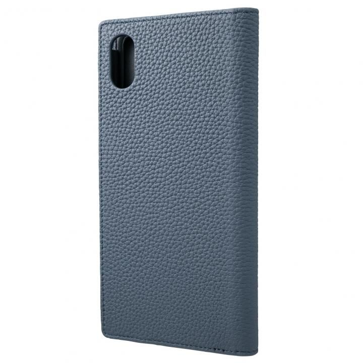 iPhone XS Max ケース GRAMAS German Shrunken-calf Genuine Leather Book Case ネイビー iPhone XS Max_0