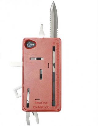 その他のiPhone/iPod ケース 工具内蔵ケース TaskOne(タスク・ワン)  オレンジ iPhone 4s/4