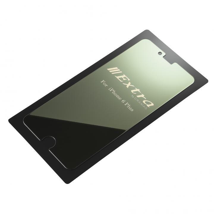 iPhone6s Plus/6 Plus フィルム GRAMAS ミラー機能付き保護強化ガラス シルバー iPhone 6s Plus/6 Plus_0