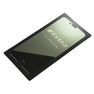 【iPhone6s Plus/6 Plusフィルム】GRAMAS ミラー機能付き保護強化ガラス シルバー iPhone 6s Plus/6 Plus