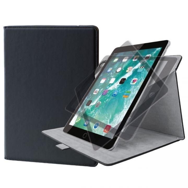 ソフトレザーカバー(360度回転) ブラック iPad Air(2019)/iPad Pro 10.5インチ_0