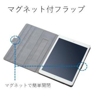ソフトレザーカバー(360度回転) ブラック iPad Pro 10.5インチ_2