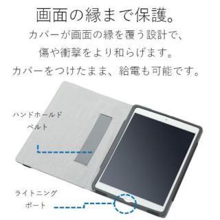 ソフトレザーカバー(2アングル) ブラック iPad Pro 10.5インチ【10月下旬】_2