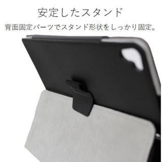 ソフトレザーカバー(2アングル) ブラック iPad Pro 10.5インチ【10月下旬】_3