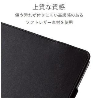 ソフトレザーカバー(2アングル) ブラック iPad Pro 10.5インチ【10月下旬】_4